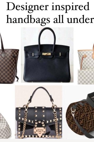 designer inspired handbags