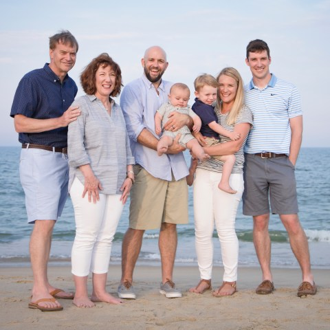 Beach, family, portrait, Bethany Beach