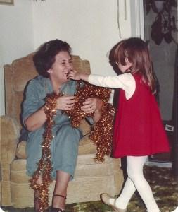 Grace and Jen Dec 1979
