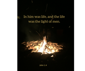 In him was life, and the life was the light of men.