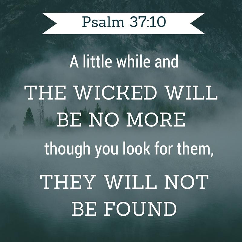 Psalm 37-10