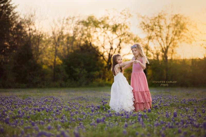 flower mound bluebonnet mini sessions