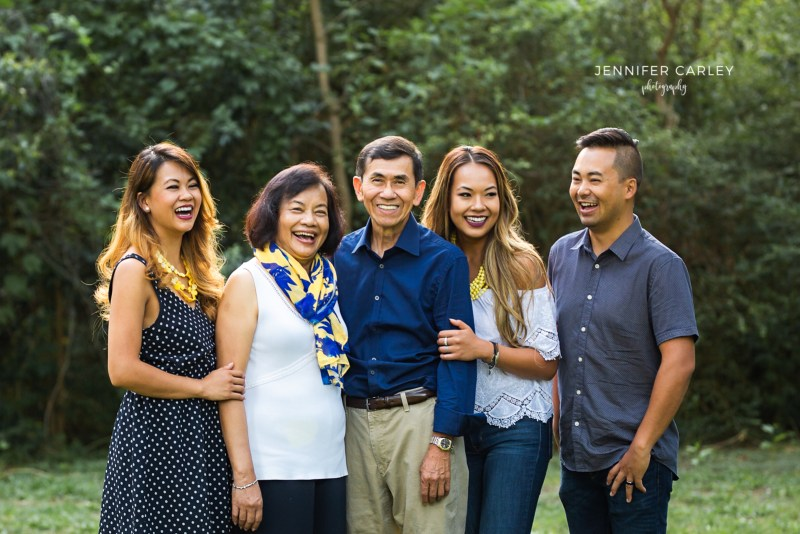 Richardson Photographer Extended Family Portraits