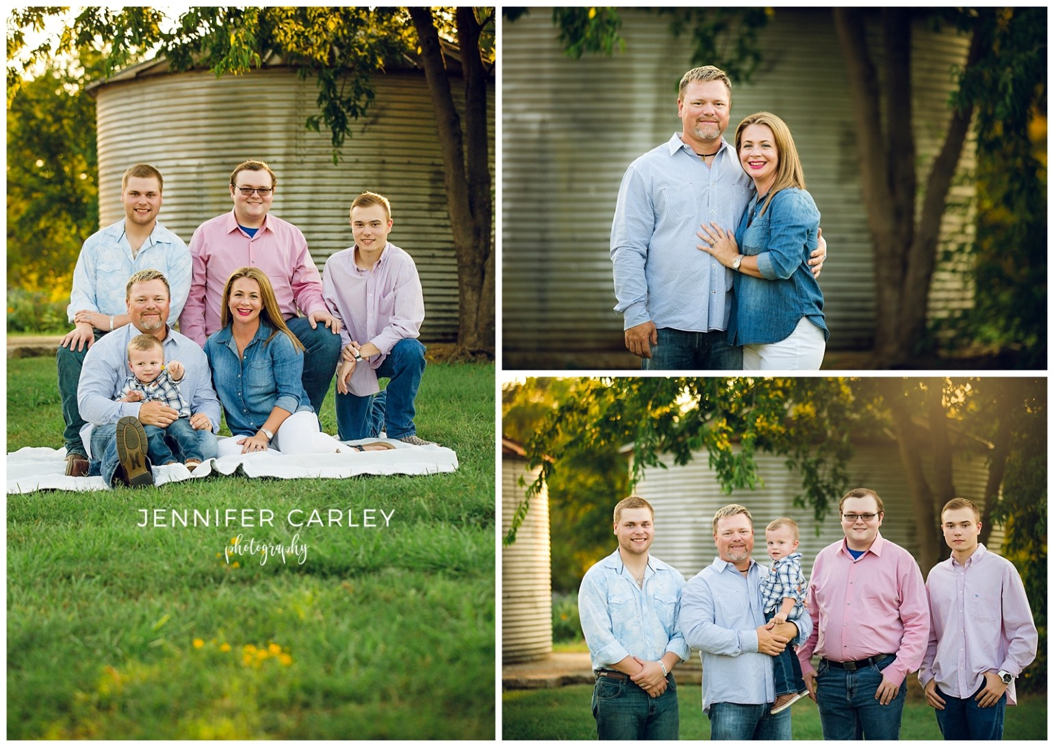 denton photographer extended family photos