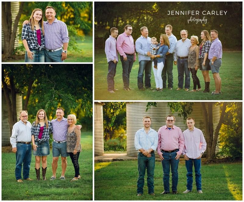 denton photographer extended family photos