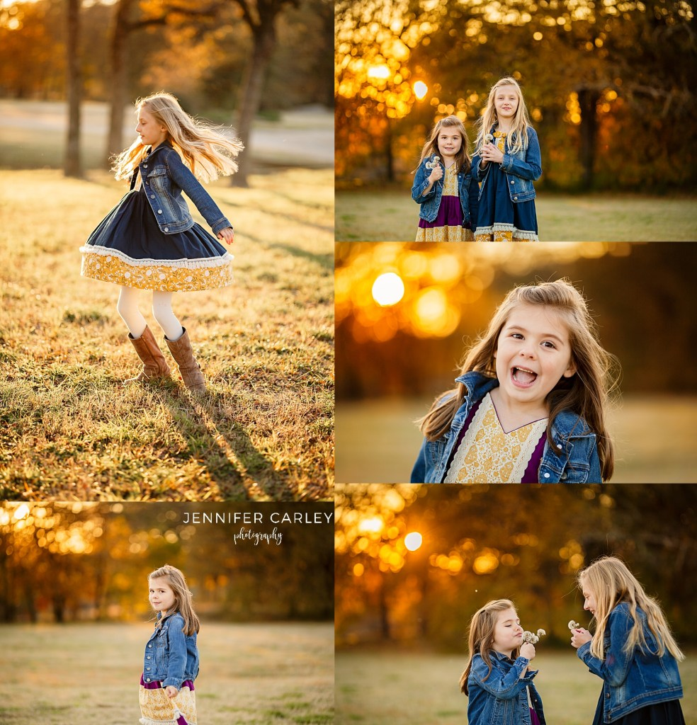 Flower Mound Fall Portraits