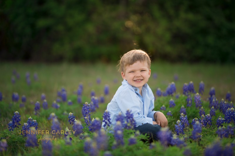 Coppell Bluebonnet Photographer