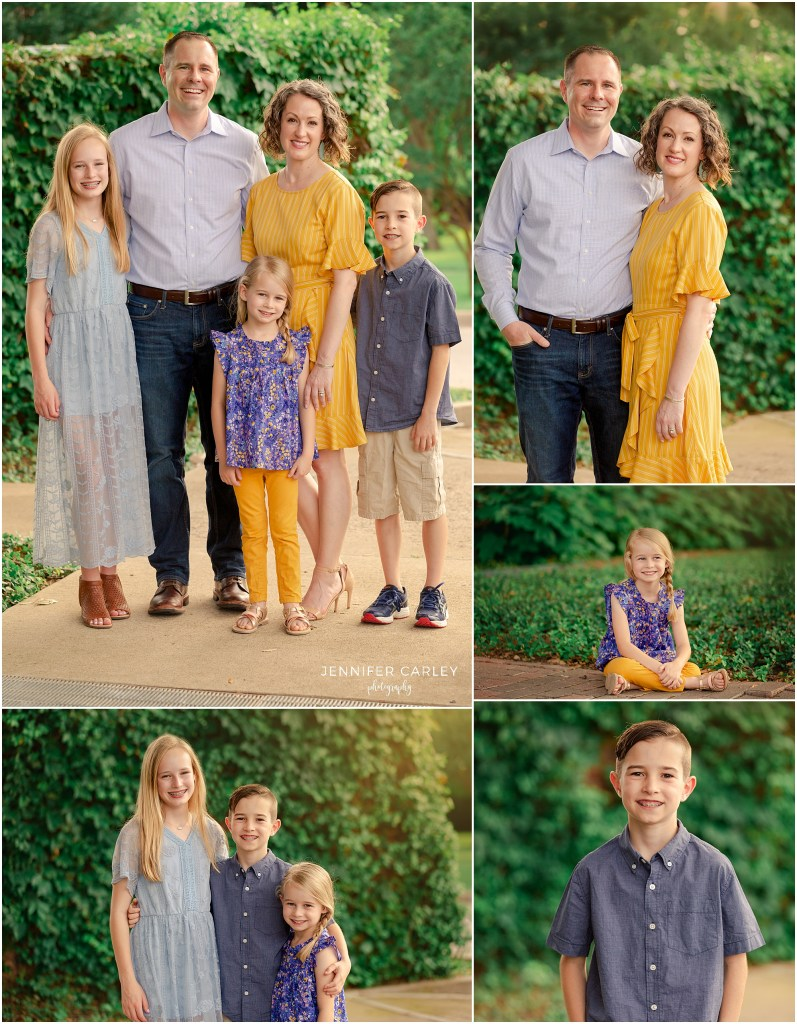 Dallas Family Photographer Main Street Historic Grapevine Family Photos