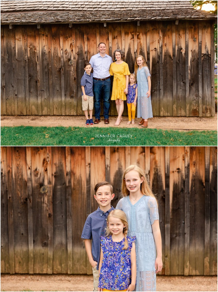 Southlake Family Photographer Main Street Historic Grapevine Family Photos