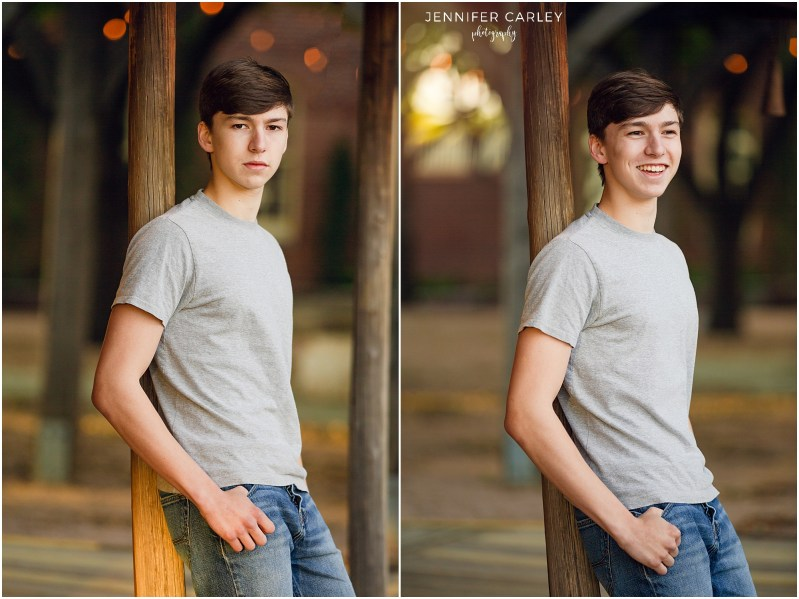 Marcus High School Senior, Grapevine Historic District, Flower Mound Photographer