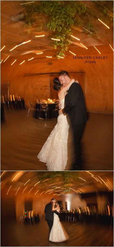 Denton Monroe Pearson Wedding, Wedding Reception, Last Dance