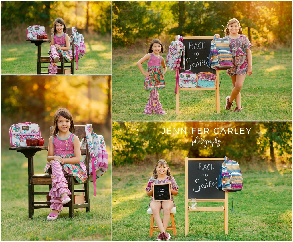 coppell family photographer Matilda Jane Clothing Back to School