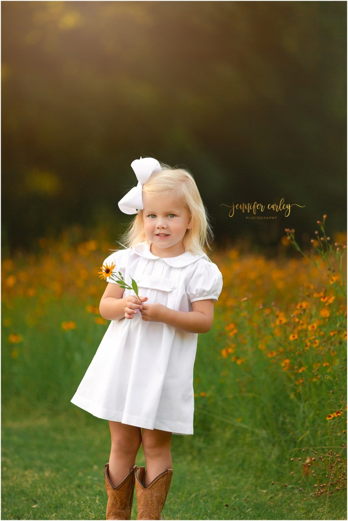 Texas Wildflower Photography | Flower Mound Family Photographer Cowboy Boots