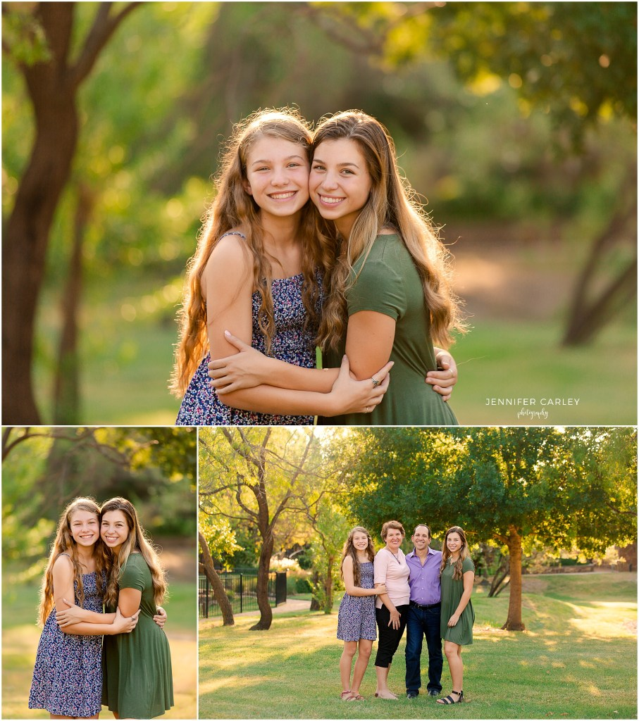 Coppell Family Photographer - DFW High School Senior Portraits at Grapevine Springs Park