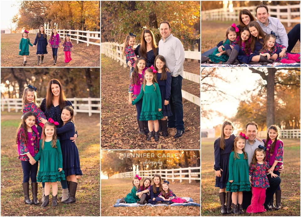 Green Acres Farm Memorial Park, Family Photography, Flower Mound Photographer, Family Photographer, Family of 6, Sisters