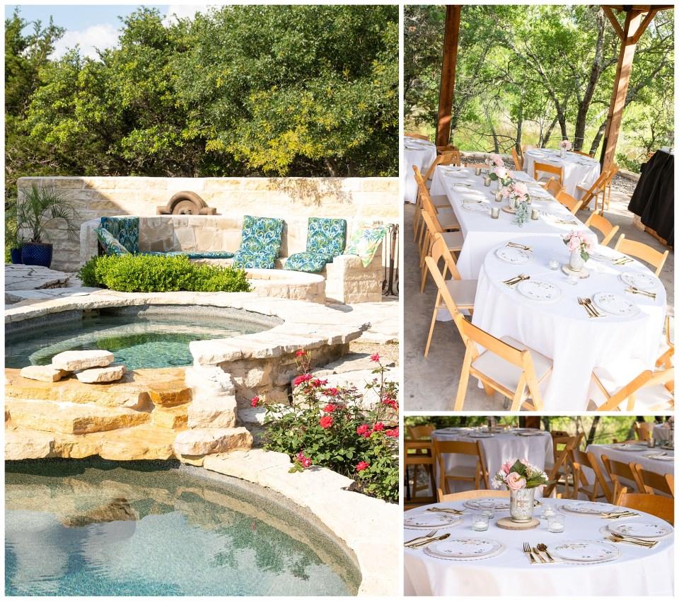 Denton Wedding Photographer, DFW Ranch Weddings, Dallas Wedding Photographer, Table settings, Backyard wedding