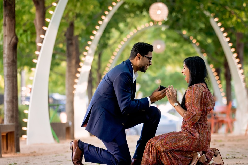 engagement photos, marriage proposal