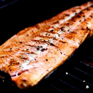 Simply Grilled Wild Sockeye Salmon