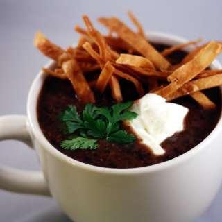 Smokey Black Bean Soup