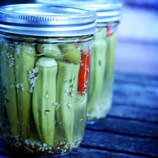 Garden Grub: Pickled Okra