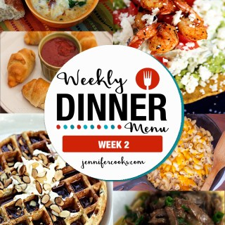Weekly Dinner Menu: Week 2
