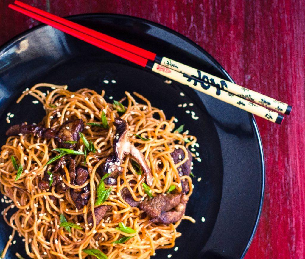 Ramen Pork Chow Mein | Jennifer Cooks