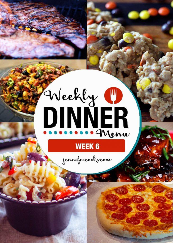 Weekly Dinner Menu: Week 6 | Jennifer Cooks
