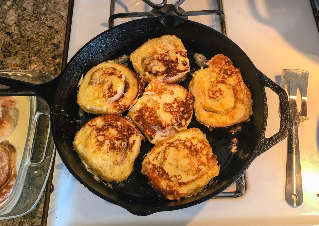 Cinnamon Roll French Toast | Jennifer Cooks