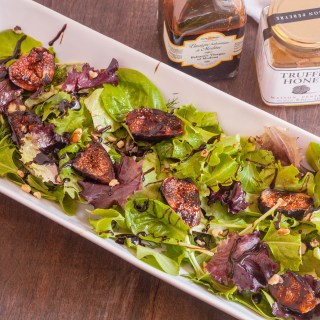 #CookOutWeek – Balsamic Glazed Grilled Fig Salad