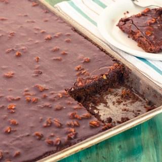 Texas Sheet Cake | Jennifer Cooks