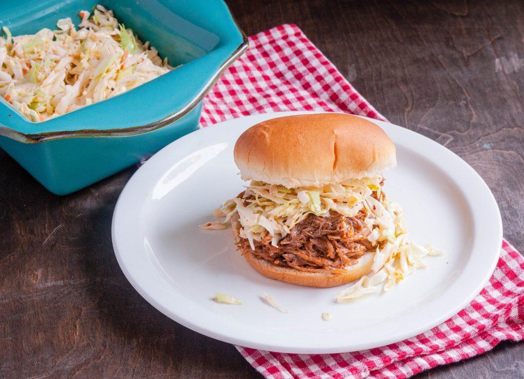 Slow Cooker Pulled Pork Sandwiches | Jennifer Cooks