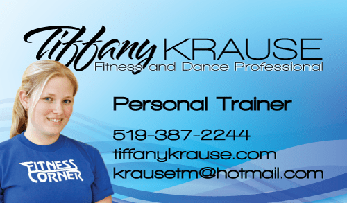 Business Card - fitness professional