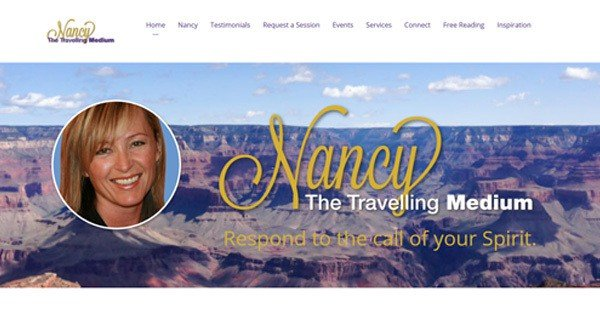 WordPress-Websites-Jennifer-Cooper-Design-Nancy-the-traveling-medium