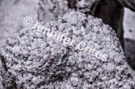 Salt crystal rock