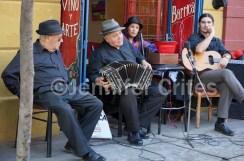Musicians in Caminito