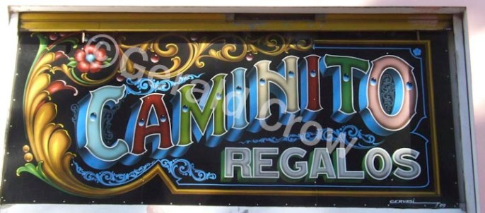 Colorful Caminito Sign