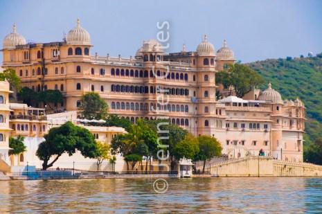 Udaipur City Palace from Lake Pichola