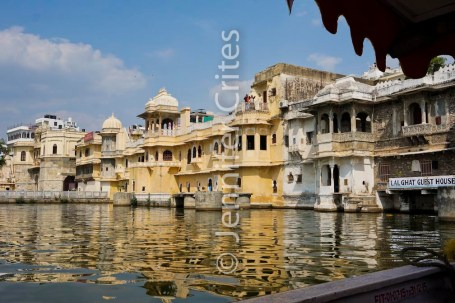 Udaipur old city on Lake Pichola