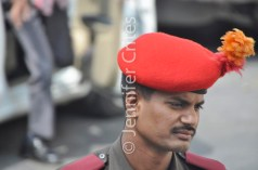 Udaipur City Palace guard