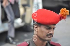 Udaipur City Palace guard