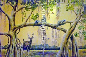 Ranthambhore wall painting