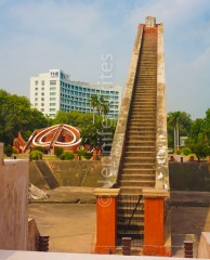 Sundial steps, Jantar Mantar, New Delhi