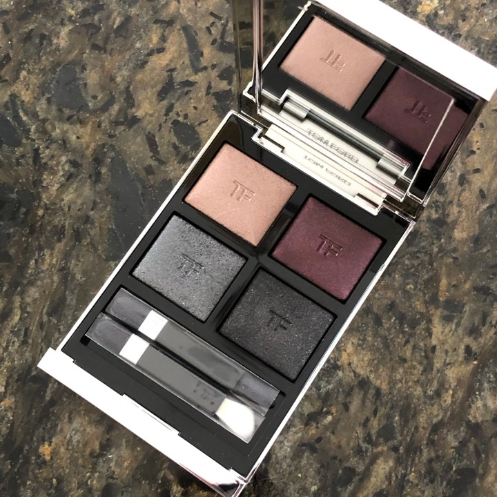 Tom Ford Badass Extreme Eye Shadow Quad Review and Swatches
