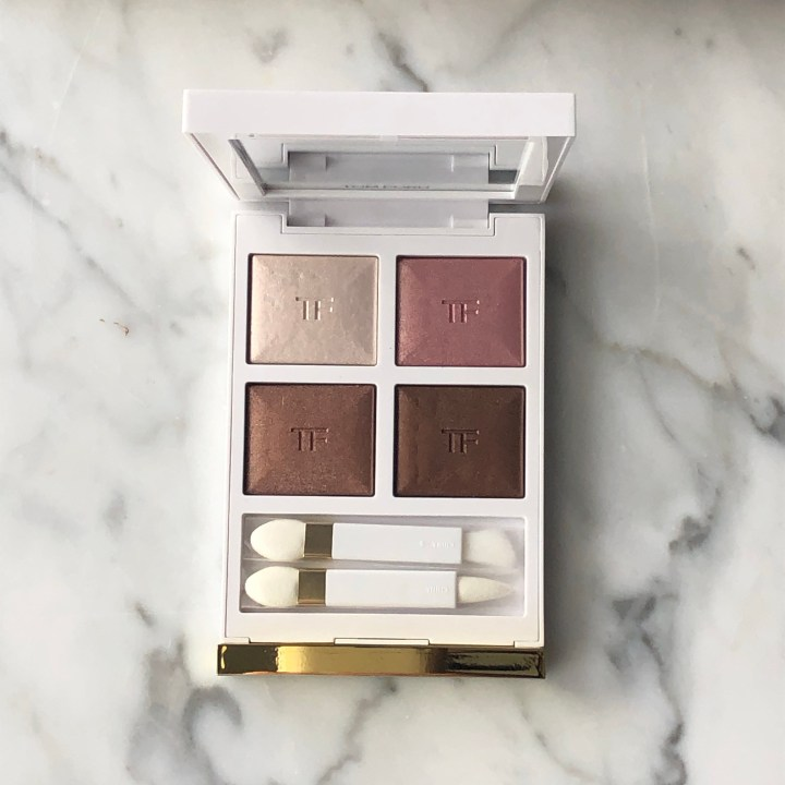 Tom Ford First Frost Eye Color Quad Review, Swatches, and Comparisons