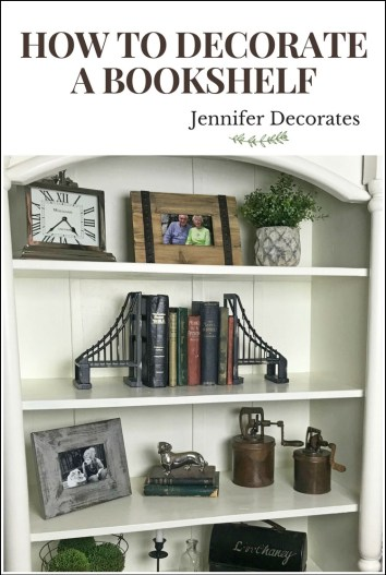 inspiring accessorized bookshelves - How To Decorate Bookshelves