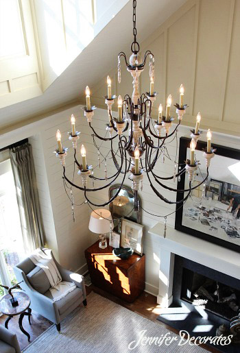 Cool Light Ideas from Jennifer Decorates.com