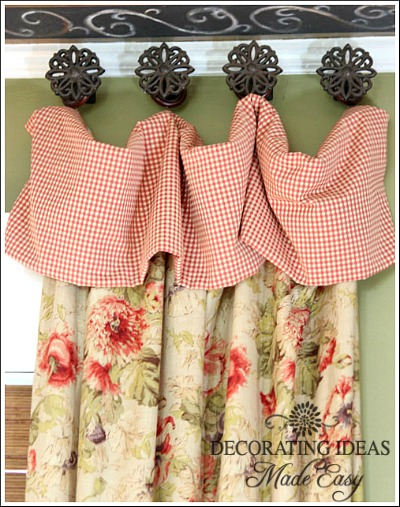 Cottage curtains window treatments for Cottage style curtain ideas