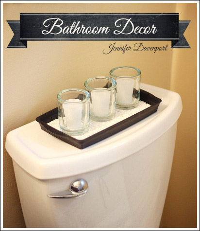 4 essential tips to accessorizing a beautiful bathroom for Bathroom decor tray