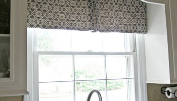 Swag window treatments you can make diy modern kitchen curtain solutioingenieria Images