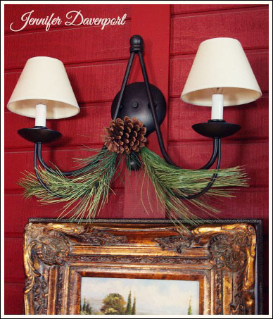 Elegant Christmas decorating ideas from Jennifer Decorates.com